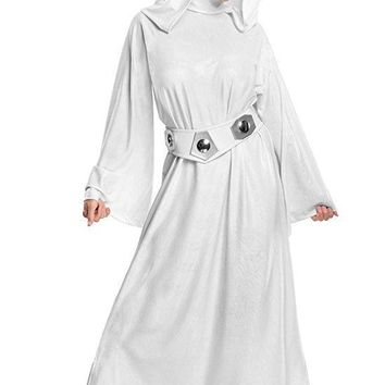 Rubies Womens Star Wars Classic Deluxe Princess Leia Costume Large