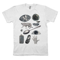 I liked this design on #Fab. Gray Collage Tee
