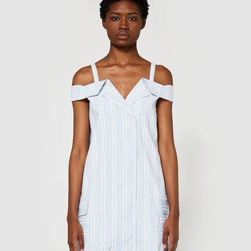 Farrow / Folded Collar Dress