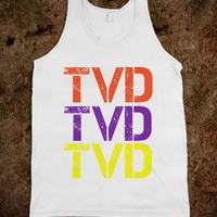 TVD Multicolored Tank - Elle Accessories: Vampire Diaries Collection