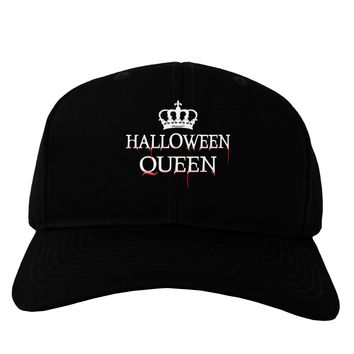 Halloween Queen Adult Dark Baseball Cap Hat by TooLoud