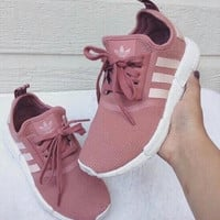 ADIDAS Women Running Sport Casual Shoes Sneakers Pink