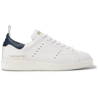 Golden Goose Deluxe Brand - Starter Contrast-Trimmed Perforated Leather Sneakers