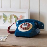 746 Petrol Blue Phone