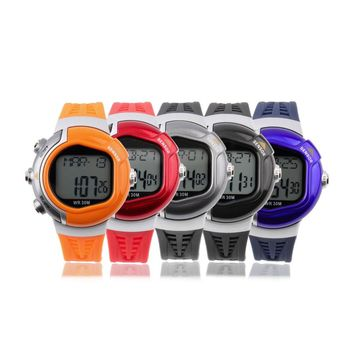 Pulse Heart Rate Monitor Calories Counter Fitness Sport Wrist Watch