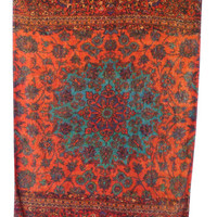 Alladin Beach Towel in Orange design by Fresco Towels