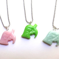 Animal Crossing Leaf Necklace