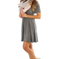 Santa Monica Dress: Gray