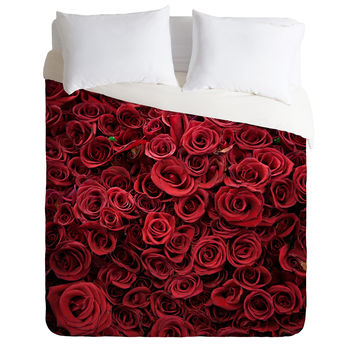 Catherine McDonald Flower Market 3 Duvet Cover