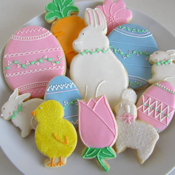 Easter Sugar Cookies, 1dz