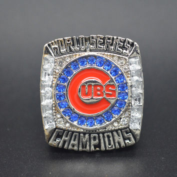 Fashion Silver Plated Vintage The est 2016 Chicago Cubs National League Baseball Championship