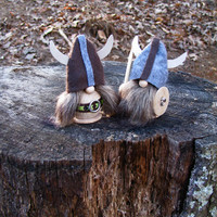 Viking Wedding Cake Toppers, Swedish / Scandinavian - CUSTOM ORDERS available. Handmade by studioLISE.
