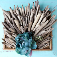 Driftwood Supplies for DIY Beach Theme Wedding Favors , Vase Filler , Natural Coastal Decoration & Craft Projects CC110