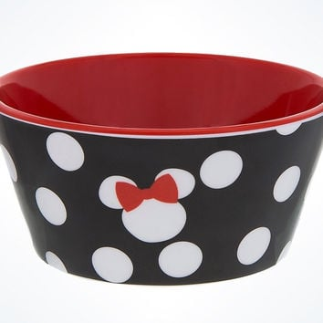 Disney Parks Minnie Mouse Dot Mini Bowl New