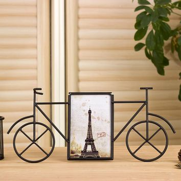 6 Inch Metal Bicycle Photo Frames