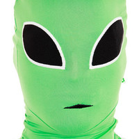 Green Alien Morph Mask - Mr. Costumes