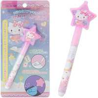 The Hello Kitty black light pen stationery series ★ black cat DM service where Cal cosmetics style stationery ☆ Sanrio is seriously cute is possible