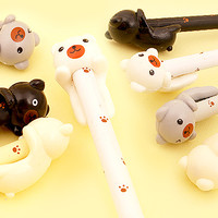 Buy Kawaii Hugging Kuma Bear Fineliner Pen at Tofu Cute