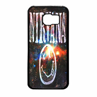 Nirvana Wood Sign Art Galaxy Samsung Galaxy S6 Case