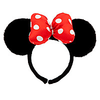 Minnie Mouse Ears Headband - Plush