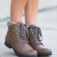 The Wynonna Boot, Taupe