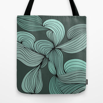 The Greens Tote Bag by DuckyB (Brandi)