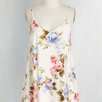 Long Spaghetti Straps Well that's Whimsical! Tunic by ModCloth