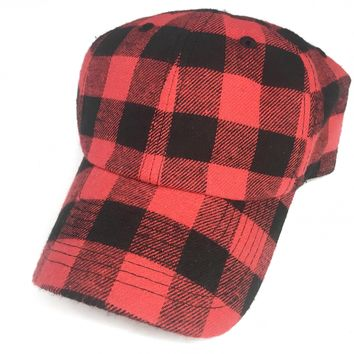 Red Buffalo Plaid Hat - Last One!