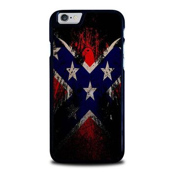 browning rebel flag iphone 6 6s case cover  number 1