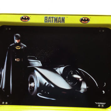 Vintage Batman TV Tray 1989