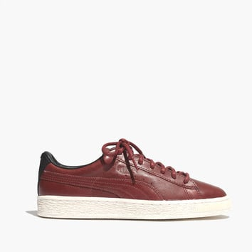 Puma® Basket Citi Sneakers in Leather