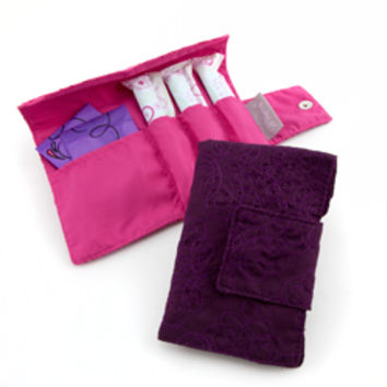 Secret Pouch - Mulberry Purple - See Jane Work