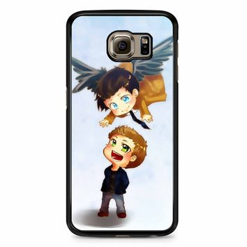 Supernatural Destiel Fanart Samsung Galaxy S6 Case