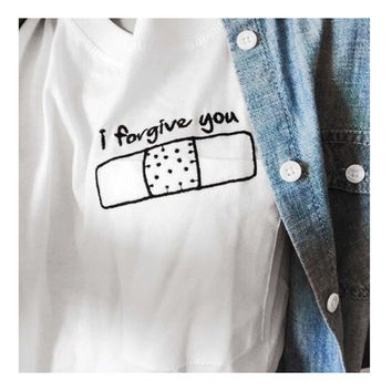 I Forgive You Short Sleeve Vintage Tshirts