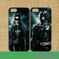 Batman and Catman - iPhone 5 case, iphone 4 case, ipod touch 4 cas, ipod 5 case, samsung galaxy S3 , galaxy S4 case, note 2 case