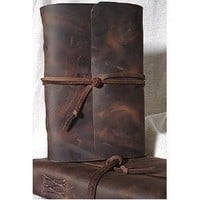 Amazon.com: Leather Writing Journal with Strap closure: Books