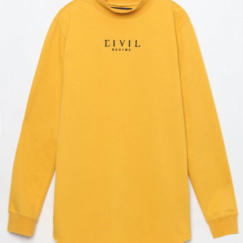 Civil Franklin Drop Long Sleeve Turtleneck T-Shirt at PacSun.com