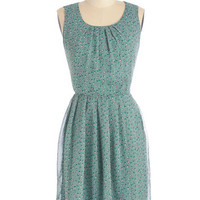 ModCloth Fruits Mid-length Sleeveless A-line Impromptu Trek Dress