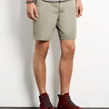 Stone Cotton Chino Shorts - Up to 50% off our Top 250 - Offers - TOPMAN USA