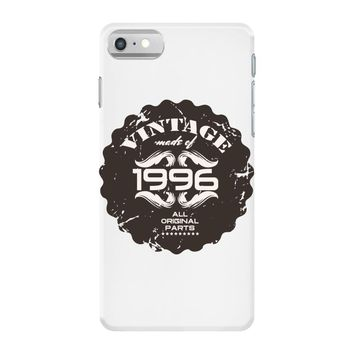 vintage made of 1996 all original parts iPhone 7 Case
