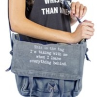 THIS IS THE BAG-Army gray