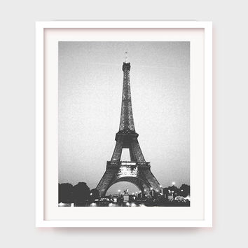 Printable Eiffel Tower Art, Paris Decor, Paris Art, Parisian, French Art, Printable Art, France, Eiffel Tower Poster, Printable Wall Art