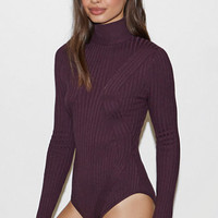 Kendall & Kylie Engineered Ribbed Sweater Bodysuit at PacSun.com