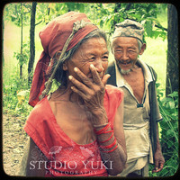 True Love - Nepal Photo Portrait - Fine Art Travel Photography TTV 8x8 Couple, two Nepalese people in love