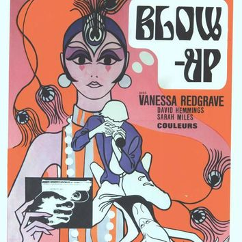 Blow Up (Belgian) 14x22 Movie Poster (1966)