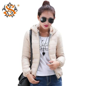Solid Color Zipper Women Spring Jacket Autumn Winter Slim Warm Ladies Coats Plus Size Outerwear