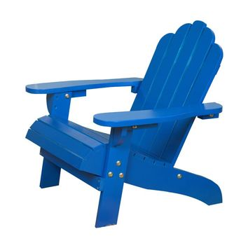 Kids Children Child Outdoor Wood Adirondack Chair For Beach Patio Deck Garden Ourdoor Furniture Boys Girls Indoor Wooden Chair