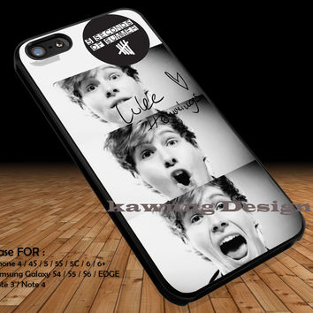 Luke Hemmings Collage iPhone 6s 6 6s+ 5c 5s Cases Samsung Galaxy s5 s6 Edge+ NOTE 5 4 3 #music #5sos DOP2163