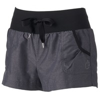 bliss Shirred-Out Mini Lounge Shorts