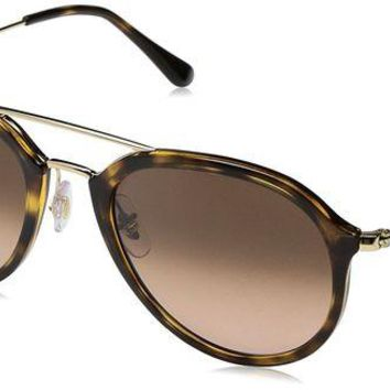 DCCKUG3 Ray-Ban RB4253 Highstreet Aviator Sunglasses